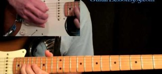 Still Got The Blues Guitar Lesson Pt.3 – Gary Moore – Outro Solo